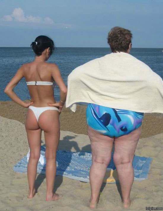 la gorda y la flaca la foto que hoy me gusta